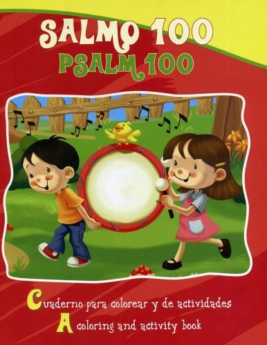 Salmo 100 Cuaderno Para Colorear