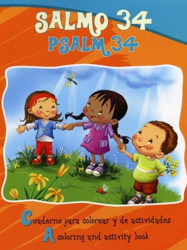 Salmo 34 Cuaderno Para Colorear