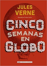 Cinco Semanas En Globo (clasicos Ilustrados)