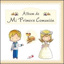 Album De Mi Primera Comunion Esp