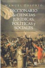 Diccionario De Ciencias Juridicas, Politicas Y Sociales