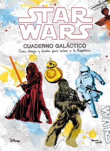Star Wars Cuaderno Galatico