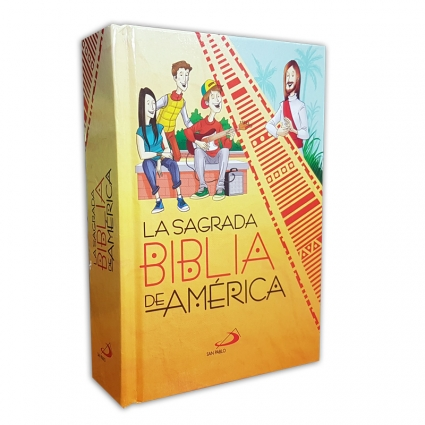 Sagrada Biblia America Juvenil Ins 10x14