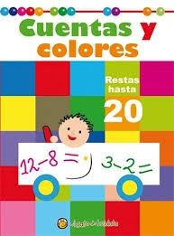 Cuentas Y Colores Resta 20