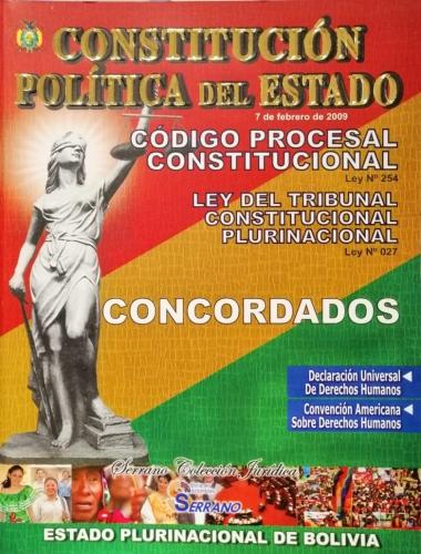 Constitucion Politica Del Estado - Tapa Blanda