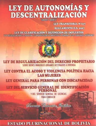 Ley De Autonomias Y Descentral
