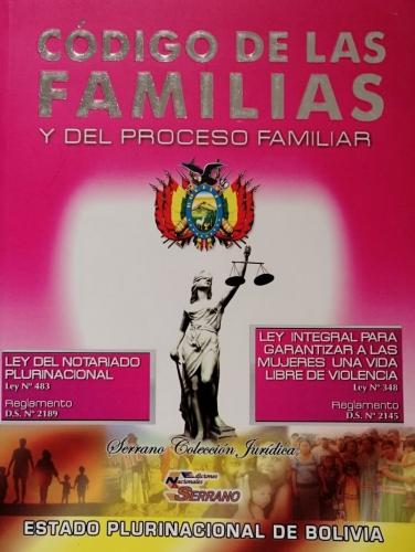 Codigo De Las Familias Y Del Proceso Familiares